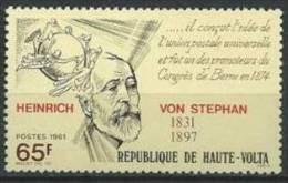 """Hte-Volta YT 546 """" Heinrich Von Stephan """" 1981 Neuf** - Alto Volta (1958-1984)"""
