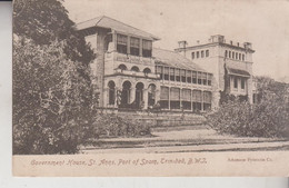 GOVERNMENT HOUSE ST. ANNS PORT OF SPAIN TRINIDAD NICE STAMP 1906 - Trinidad
