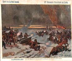 """127 Eme Régiment D'Infanterie De Ligne - LA BERESINA 1812 - Edition """"Le Petit Journal"""" - Regimientos"""
