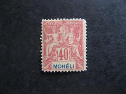MOHELI: TB N° 10, Faux Fournier,  Oblitéré. - Oblitérés