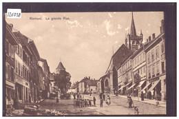 ROMONT - GRANDE RUE - B ( LEGER GRATTAGE DANS LE CIEL ) - FR Fribourg