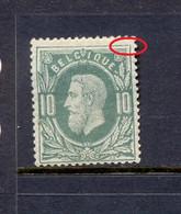 Nr 30A ** Met Curiositeit (NP017) - 1869-1883 Leopoldo II