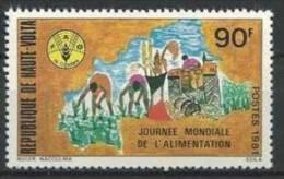 """Hte-Volta YT 557 """" Journée De L'alimentation """" 1981 Neuf** - Alto Volta (1958-1984)"""
