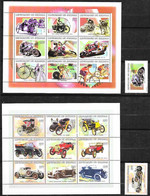 Rép. Sénégal - 1999 - Autos, Motos, Vélos - Y Et T N° 1428 à 1447, Tous** (MNH) - Fraicheur Postale - Senegal (1960-...)