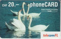 SWITZERLAND - PHONE CARD - TAXCARD ***   OISEAUX & CYGNES  *** - Otros