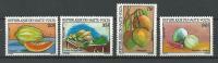 """Hte-Volta YT 559 à 562 """" Fruits Et Légumes """" 1981 Neuf** - Alto Volta (1958-1984)"""