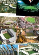 Lot STADES - 8 CP Stades De Football/Arenas (Sao Paulo,Maracana, Gerland,Kaiserslautern,Bremen) - 5 - 99 Postales