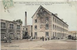 51 CPA BAZANCOURT USINE DELARGE CONSTRUIT SUBVENTION NAPOLEON 1 - Bazancourt