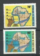 """Hte-Volta YT 587 & 588 """" Série UAPT """" 1982 Neuf** - Alto Volta (1958-1984)"""