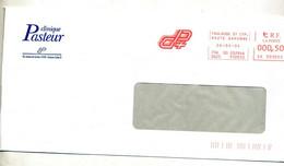 Lettre Flamme Ema Toulouse Clinique Pasteur - Freistempel