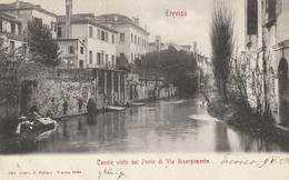 Veneto - Treviso - Canale Visto Dal Ponte Di Via Risorgimento - - Treviso