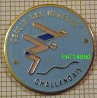 NATATION CERCLE Des NAGEURS CHALLANDAIS  à  CHALLANS En Vendée Dpt 85 En Version EàF - Nuoto