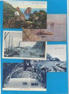 14 Ansichtskarten Capri - Napoli (Napels)