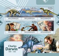 Mozambique 2012 MNH - Charles Darwin. Y&T 4891-4896, Mi 5867-5872, Scott 2661 - Mozambico