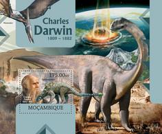 Mozambique 2012 MNH - Charles Darwin. Y&T 591, Mi 5873/Bl.647, Scott 2691 - Mozambico