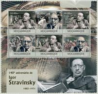 Mozambique 2012 MNH - Igor Stravinsky. Y&T 4951-4956, Mi 5909-5914, Scott 2655 - Mozambico