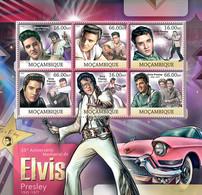 Mozambique 2012 MNH - Elvis Presley. Y&T 5029-5034, Mi 5972-5977, Scott 2652 - Mozambique