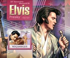 Mozambique 2012 MNH - Elvis Presley. Y&T 614, Mi 5978/Bl.662, Scott 2682 - Mozambique
