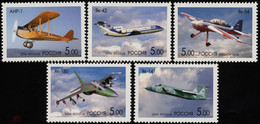 RUSSIE/RUSSIA/RUSSLAND/ROSJA 2006 MI.1325-29** Blok 87,ZAG.1093-97 ,YVERT..6935-39.MINI SHEET BLOCK AVIATION HISTORY Y - Unused Stamps