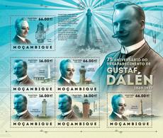Mozambique 2012 MNH - Gustaf Dalen & Lighthouses. Y&T 5113-5118, Mi 6146-6151, Scott 2731 - Mozambique
