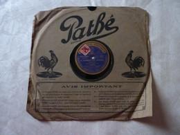 Disque 78 T Phonographe GRAMOPHONE Pathé - Bergeret N° P 4535 - 78 G - Dischi Per Fonografi