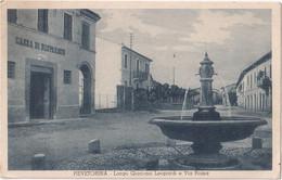 Pievetorina - Largo Giacomo Leopardi E Via Roma - Other Cities