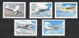 RUSSIE/RUSSIA/RUSSLAND/ROSJA 2006 MI.1295-99** Blok 85,ZAG.1063-67 ,YVERT..6911-15.MINI SHEET BLOCK AVIATION HISTORY - Unused Stamps