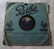 Disque 78 T Phonographe GRAMOPHONE Pathé - Berniaux - Roberty N° 4601 - 78 G - Dischi Per Fonografi
