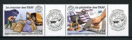 TAAF 2020  N° 933/934 ** Neufs MNH Superbes Courrier Et Philatélie Des TAAF Oblitération Bateau Voiture Ships - Nuovi