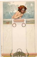 KEMPF - Fmme Art Nouveau (5624 ASO) - Andere Illustrators