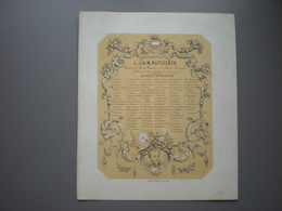 LEUVEN - Universiteit - Rutgeerts - Rechten - Notariaat - 1851 - Université Catholique - Leuven