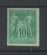 France - 1887 - N°Yv. 76a - Sage 10c Vert - Granet - Neuf (*) / MNG - 1876-1898 Sage (Tipo II)