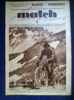 MATCH Intran 411 SPORT CYCLISME Tour France Vietto Evian Aix Les B. Grenoble Gap ATHLETISME BOXE Perez VOILE Curry 1934 - Sin Clasificación