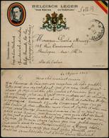 DEL086 Carte En Franchise PMB 6 Vers Boulogne Sur Mer France  1917 - Altre Lettere