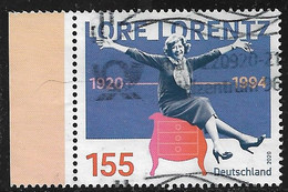 2020  100. Geburtstag Von  Lore Lorentz - Used Stamps