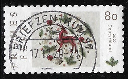 2020  Frohes Fest  (Weihnachten)   Selbstklebend - Used Stamps