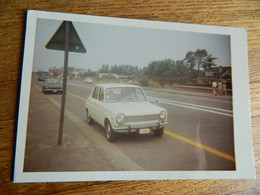 AUTO:TRES BELLE PHOTO 9X13 D'UNE PEUGEOT OU SIMCA ???? - Passenger Cars