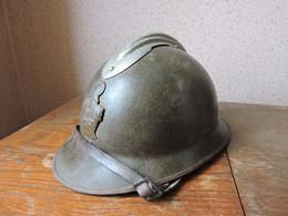 Casque Adrian Modèle 1926 Du Génie WW2 - Headpieces, Headdresses