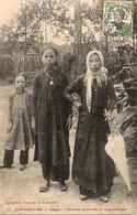 VIETNAM TONKIN  INDOCHINE SAÏGON  Femmes Annamites à La Promenade - Vietnam