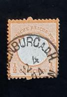 Allemagne - Deutschland - Germany - 1872 - N° 15 - Oblitéré - Côte 6 Euros - Gebraucht