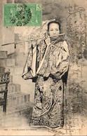 VIETNAM TONKIN  INDOCHINE Une Flutiste Annamite - Vietnam