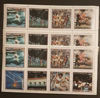 GAIRSAY SCOTLAND OLYMPIAD 1984 LOS ANGELES 3 SHEETS PERFORED MNH - Summer 1984: Los Angeles