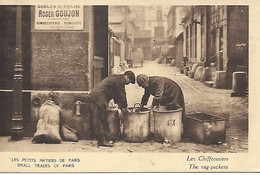 PARIS LES PETITS METIERS DE PARIS - LES CHIFFONNIERS - Artisanry In Paris