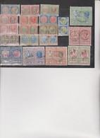 19 MARCHE DA BOLLO UNITE  TASSA DI BOLLO LUSSO E SCAMBI - Revenue Stamps