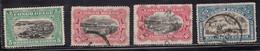 BELGIAN CONGO Scott # 60-2 Used - Various Scenes - 1894-1923 Mols: Usati