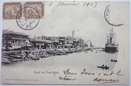 QUAI DE PORT SAÏD - ÉGYPTE - Port Said