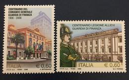 2006 - Italia - Centenario Del Comando Generale Della Guardia Di Finanza E Della Legione Allievi. Coppia Valori - 2001-10:  Nuovi