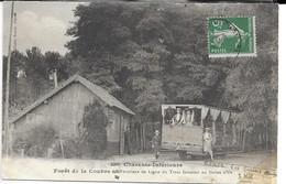 CPA 17200 ROYAN : Tramway  Au Terminus De La Ligne Au Galon D'Or ( Ronce-les-Bains )   1914 - Royan