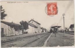 D37 - PORT BOULET - LA GARE - Vue Intérieure - Train - Other Municipalities