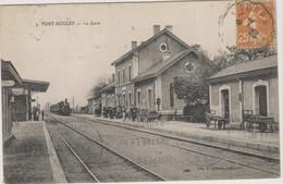 D37 - PORT BOULET - LA GARE - Vue Intérieure - Train - Nombreuses Personnes - Vélo - Chariots De Bagages - Other Municipalities